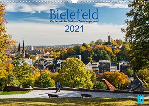 Bielefeld - Die freundliche Stadt am Teutoburger Wald (Wandkalender 2021 DIN A3 quer)