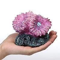 Moonlight Star シミュレーションサンゴ魚タンク造園リーフ樹脂スチウムフィッシュ装飾水族館装飾品 (Color : Style F)