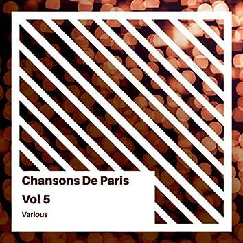 Chansons de Paris, Volume 5