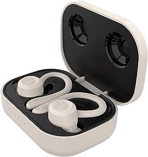 MERIGLARE Trådlösa sporthörlurar, Bluetooth-hörlurar med örhänge, brusreducerande med mikrofon, 28 timmars batteritid, ber...