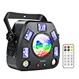 Best Disco Lights - ZKYMZL Party Lights Stage Lights, RGBW/UV 4 in Review