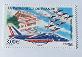 Timbre de France Neuf**, Gomme intacte. 2008 Collection Poste aérienne No 71. Avion Patrouille de France, Paris Arc de Triomphe par DesLivresExpress