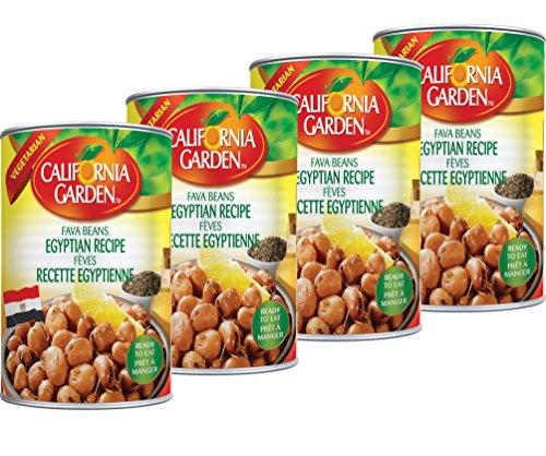 California Garden - Egyptian Style Fava Beans 16 oz (4 Pack)