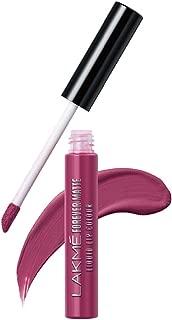 Lakme Forever Matte Liquid Lip Colour, Fuschia Chic, 5.6 ml