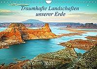 Traumhafte Landschaften unserer Erde (Wandkalender 2022 DIN A4 quer): Traumhafte, faszinierende Landschaften aus verschiedenen Teilen der Welt in magischem Licht zu allen Jahreszeiten. (Monatskalender, 14 Seiten )
