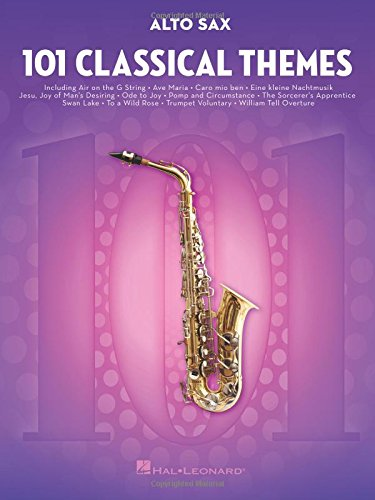 101 Classical Themes -For Alto Saxophone- (Book): Noten, Sammelband für Alt-Saxophon