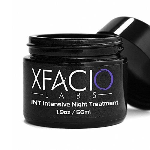 xfacio Labs Intensivo Lift noche cream-100% Advanced Anti Envejecimiento Intensivo Noche treatment-xfacio Labs Natural & Orgánico fórmula con CoQ10. Péptidos, Ácido Hialurónico, aceite de jojoba & más