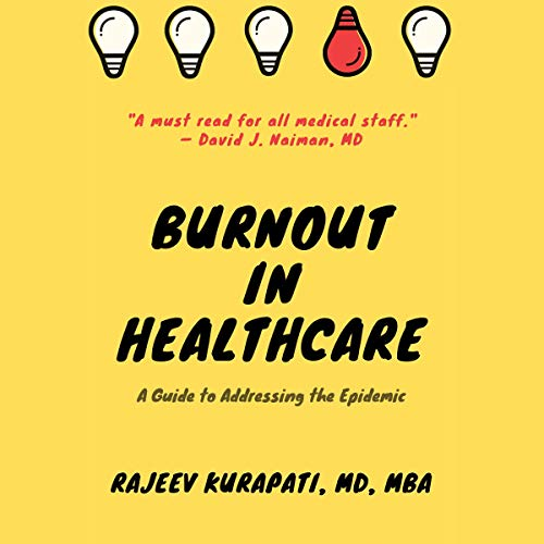 Burnout in Healthcare cover art