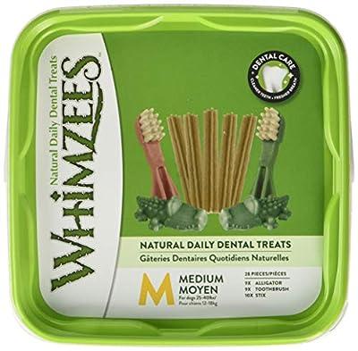 WHIMZEES Natural Dog Treats, Variety Value Box Mixed Shapes