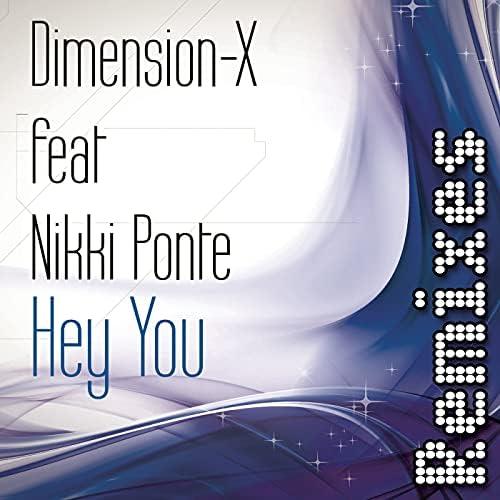 Dimension-X feat. Nikki Ponte