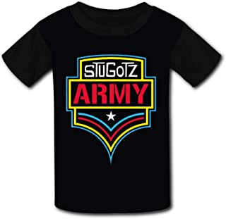 Youth/Kids T-Shirt Stugotz Army 3D Print Short Sleeve Top Tees