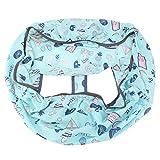 VOBOR tragbarer Einkaufswagen Stuhl Paketbezug Trolley Soft Pad Babysitzbezug
