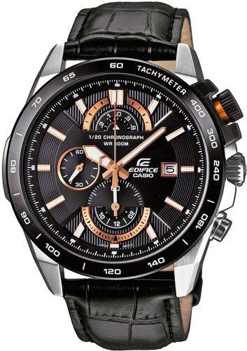 CASIO Uhr EFR-520L-1AVEF Edifice Chronograph Gents Watch 10 BAR WD