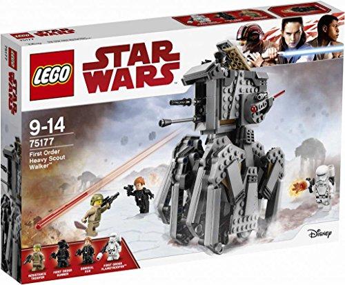 Lego Star Wars The Last Jedi 75177Heavy du Premier Ordre Scout Walker
