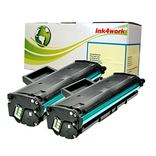 2 Pack Ink4work MLT-D101S (101) Compatile Toner Cartridge for Samsung ML-2165W, SCX-3400F, SCX-3400FW, SCX-3405FW, SF-760P (2 Pack)