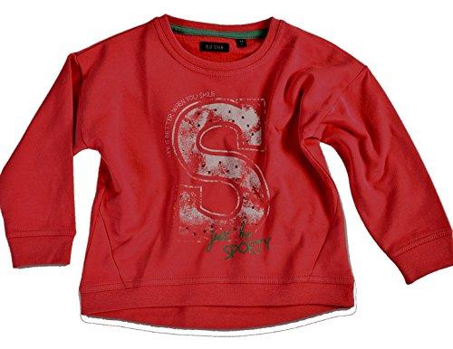 Blue Seven Mädchen - Sweatshirt aus der Serie Spotify Rot (122)