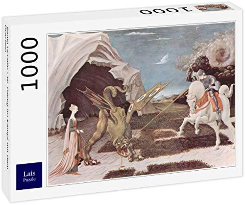 Lais Puzzle Paolo Uccello - San Giorgio che combatte il drago 1000 Pezzi