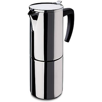 Fagor - Cafetera Inox Etna4, 4 Tazas, 380 Ml, Acero Inox, Asa Soft ...