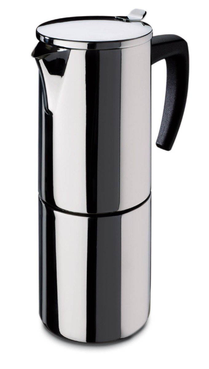 Fagor - Cafetera INOX Etna6, 6 Tazas, 535 Ml, Acero INOX, Asa Soft ...