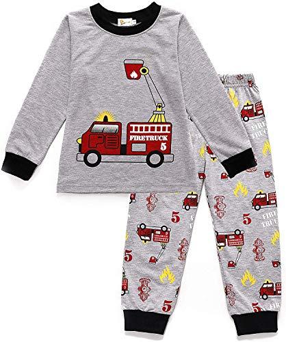 EULLA Tarkis Jungen Pyjama Schlafanzüge Lange Zweiteiliger Schlafanzug, 98 (Herstellergröße: 100), 1