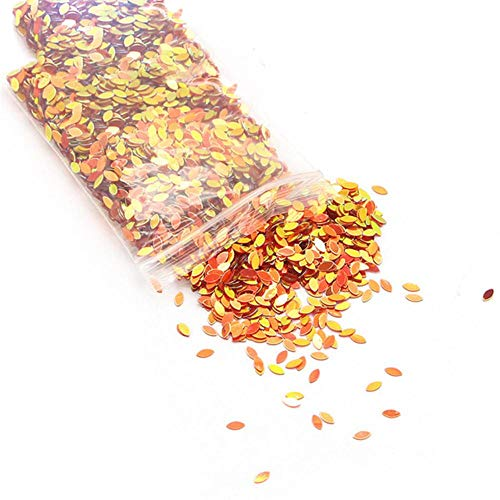Lucia Knutselen 20 g/partij 2 * 4mm Multicolor Plastic Losse Pailletten voor Thuis Xmas Party Wedding Decor Confetti DIY Accessoires D0209, C2 Rood