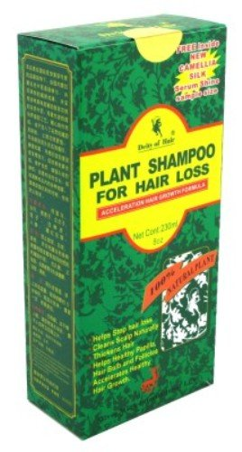 Deity Shampoo Plant For Hair Our shop most popular Max 60% OFF Loss 8 Pack 235ml Ounce 3