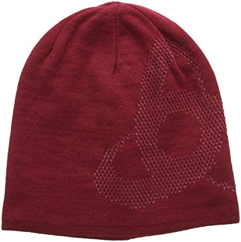 Odlo Mid Gage Reversible Warm Mütze, Rumba Red/Mesa Rose, One Size