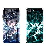 FUTURECASE Anime Luminous Tempered Glass Case for iPhone 12