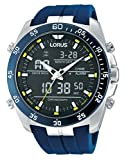 Lorus Watches Herrenuhr Analog-Digital Quarz mit Kautschukarmband – RW617AX9