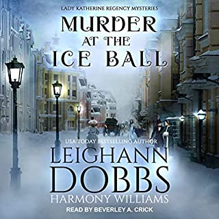 Murder at the Ice Ball cover art