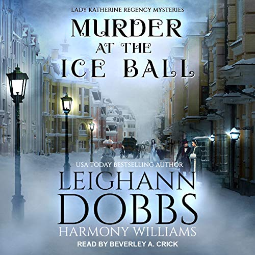 Murder at the Ice Ball audiobook cover art