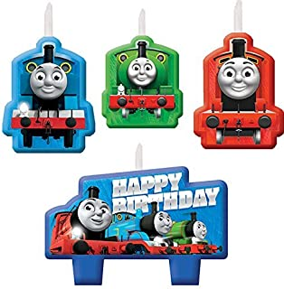 Amscan Thomas All Aboard Birthday Candle