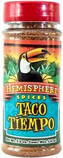 Mexican Spice Seasoning Taco Tiempo Spice Blend 3.8 oz Hemisphere Brand