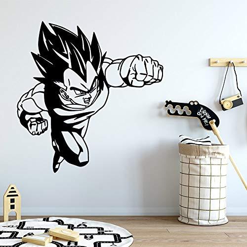 yaonuli Goku muursticker, zelfklevend behang, afneembare muursticker, Home
