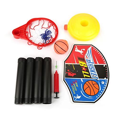Duokon Mini Kinder Basketballkorb Einstellbare Set Miniatur Basketball Set Spielzeug für Training Outdoor Indoor Sport Geschenke