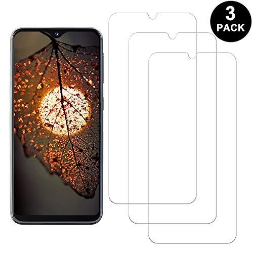 SNUNGPHIR Samsung Galaxy A20 Protector Pantalla, Cristal Templado para Samsung Galaxy A20, Anti-arañazos, Anti-Huella Digital, Sin Burbujas, 3 Unidades