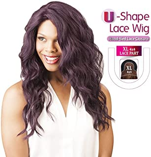 New Born Free Synthetic Lace Front Wig Magic Lace U-Shape Lace Wig MLU04 (Deep Violet)