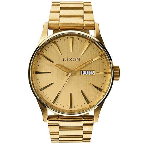 Nixon Reloj Analógico para Hombre de Cuarzo con Correa en Cuero A356-502-00