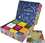 pukka coffret sélection, idée cadeau, sélection de thés et d'infusions biologiques et ayurvédiques