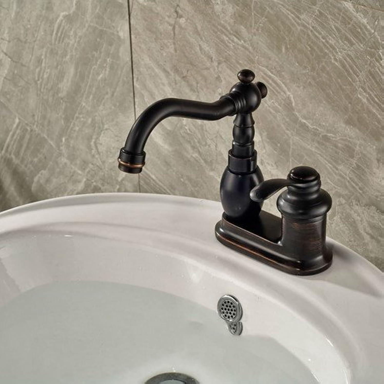 ENKI Duscharmatur Thermostat Antik-Stil Bronze Handbrause Kopfbrause Retro Class