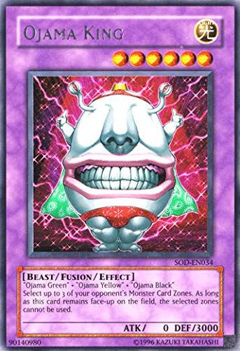 Yu-Gi-Oh! - Ojama King (SOD-EN034) - Soul of The Duelist - Unlimited Edition - Ultimate Rare