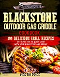 Blackstone Outdoor Gas Griddle Cookbook: 300 Delicious Grill Recipes With Pro Tips To Quick Start With Your Blackstone Gas Griddle