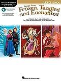 Songs from Frozen, Tangled & Enchanted - Alto Sax: Instrumental Play-Along (Hal Leonard Instrumental Play-along)