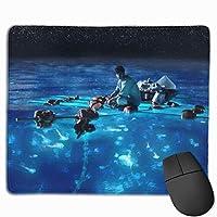 マウスパッド コンピュータマウスパッド ティーンエイジャー ゲーミングマウスパッド マウスマット おしゃれ 滑り止め デザイン 可愛い ラバーマット 厚くした 防水 男女兼用