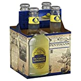 Fentimans Natural Victorian Lemonade Soda, 9.3 Ounce - 4 per pack - 6 packs per case.