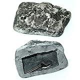 Hide A Key Holder Faux Outdoor Rock Fake Storage Spare Hider Safe Novelty Gift !