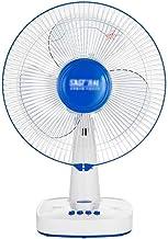 Ventilateur de bureau, Bureau SILENCE Utilisez ventilateur électrique en hochant la tête piédestal Ventilateur Bouton de r...