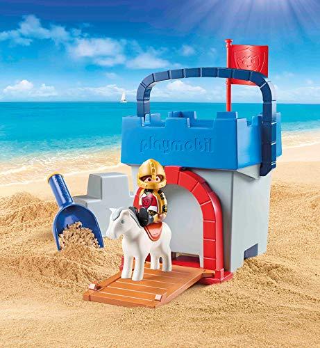 Cubo castillo Playmobil 1.2.3 Sand (70340)