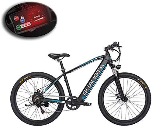 GMZTT UNISEX BICICLEY Adulto bicicleta eléctrica de montaña, batería de litio de...