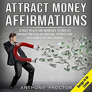 Attract Money Affirmations audiobook cover art